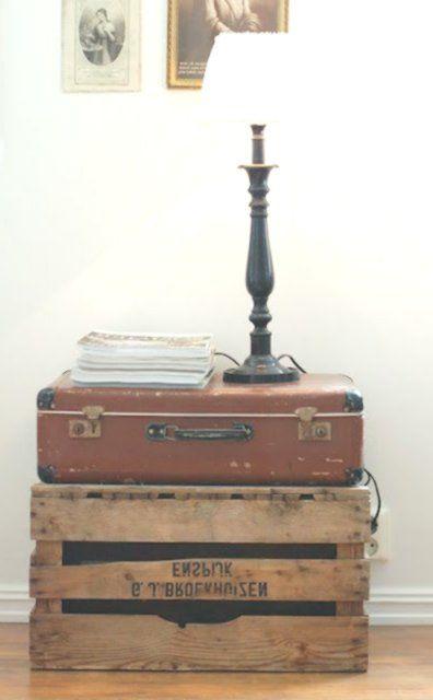 24 Besten Diy Vintage Koffer Tisch Ideen Prokitchenidea In Home