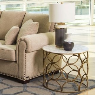 Ottoman Coffee Table At Overstock Com Coffee Table Round Gold
