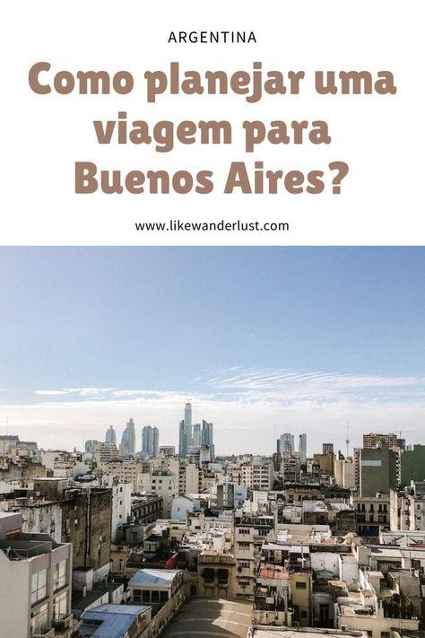 Dicas para planejar uma viagem para Buenos Aires na Argentina. Veja aqui como economizar e aproveitar ao máximo a capital portenha. #BuenosAires #Argentina