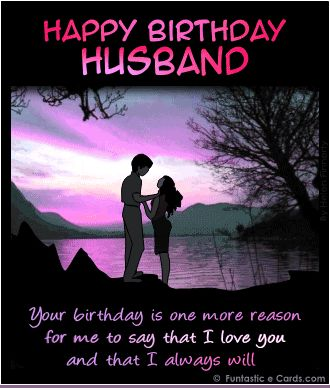 Bday Husband Silhouettes Landscape Pink Hues Gif 330 388 Pixels Happy Birthday Husband Quotes Happy Birthday Husband Happy Birthday Husband Funny
