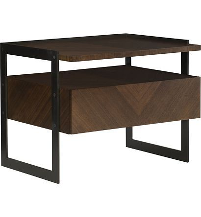Barstock Side Table From The Ray Booth Collection By Hickory