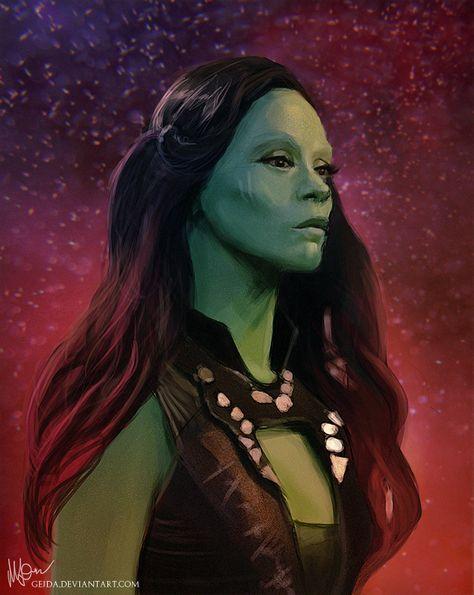 Gamora by Gejda on DeviantArt