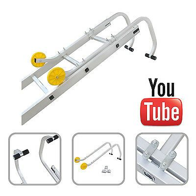 Universal Roof Hook Kit For Aluminium Extension Ladders 1 Year Warranty Roof Ladder Aluminum Extension Ladder Ladder