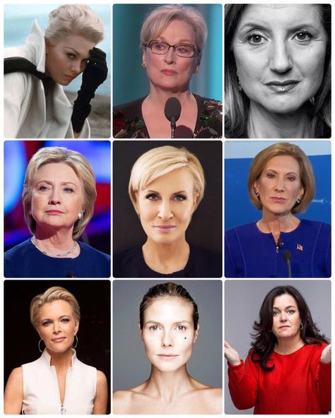 Just a few of the women President Trump has demeaned, denigrated, and attacked in recent years. America deserves better.