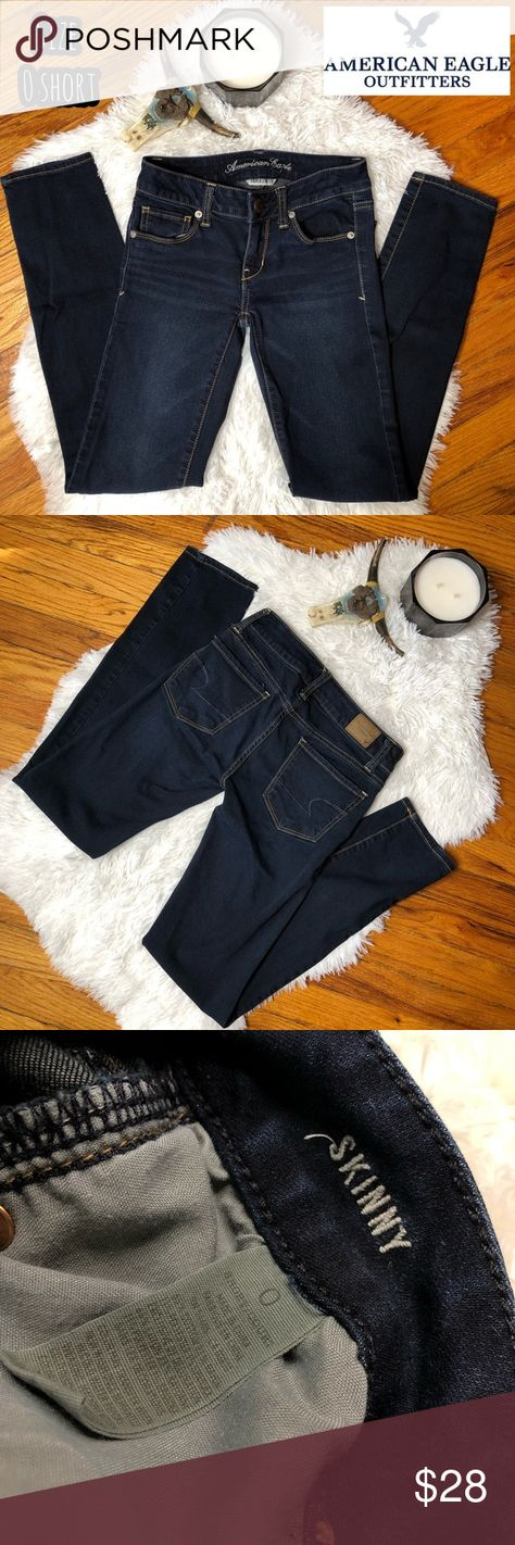 698d61a76373e American Eagle super stretch skinny jeans 👖 American Eagle Outfitters  super stretch skinny jeans for short