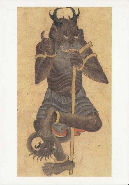 Rustam Kills a Demon miniature2 t Demonology Islamic | Medieval art, Art, Demonology