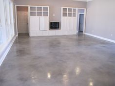 Acid wash concrete with no stain just pure for the home grey stained concrete floors tyukafo