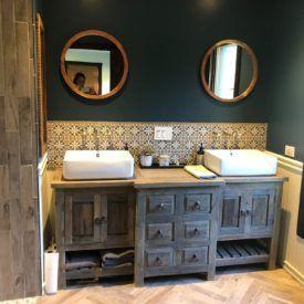 Buy Robertson Reclaimed Bathroom Vanity Online In 2020 Reclaimed Bathroom Rustic Bathroom Vanities Bathroom Decor