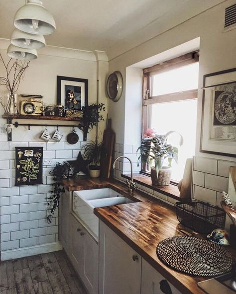 Rustic vintage kitchen | Kitchen accessories decor, Rustic ...