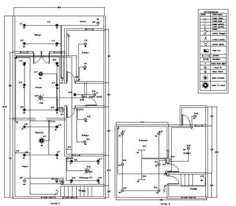 Pin Oleh Firas Ghalib Di Denah Rumah Listrik Arsitektur