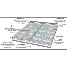 Tuftex Multi Wall 6mm Panel Clear 4 Ft X 8 Ft Corrugated Polycarbonate Plastic Roof Panel At Lowes Com With Images Roof Panels Corrugated Paneling