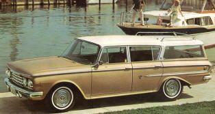 1962 Rambler Ambassador Station Wagon Classic Rambler Cars Hard