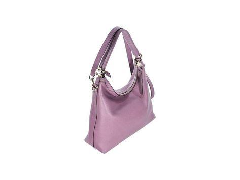 6b496eb44e8d Purple Gucci Leather Miss GG Shoulder Bag | It Figures | Pinterest ...