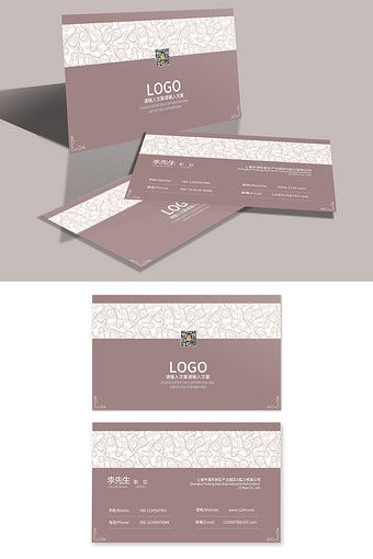 Simple European High End General Corporate Business Card Template Pikbest Templates Corporate Business Card Business Card Template Business Card Template Psd