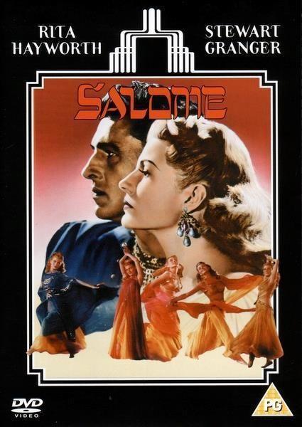 Salome Rita Hayworth Stewart Granger movie poster print