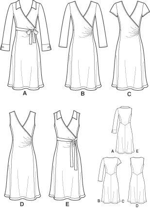 Wrap Dress Designs