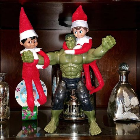 If you're a parent moving around not one but two (or maybe even more!) Elves on the Shelf this year, first of all: bless you and godspeed. We know how hard it Grinch Christmas, Christmas Carol, Christmas Goodies, Christmas Baking, Kids Christmas, Letter Explaining Santa, Santa Letter, Awesome Elf On The Shelf Ideas, Bad Elf