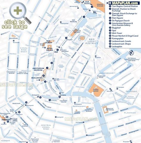 Walking Tour Itinerary Explore Interesting Sites Buildings Canals
