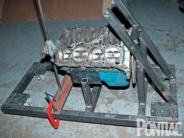 Diy Engine Break In Stand How To Design And Build A Budget Motor Stand Hot Rod Network Engineering Pontiac Design