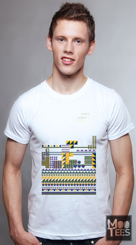 If you think this cool graphic tee reminds you of the cool classic game Tetris, you are correct! Grab this cool graphic tee now!