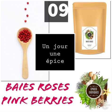 Baies roses - poivre rose - pink pepper