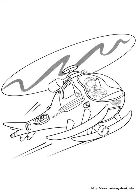 Fireman Sam, : Fireman Sam and Friends on Fire Trucks Coloring Page ...