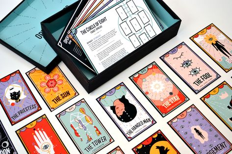 tarot cards on Behance