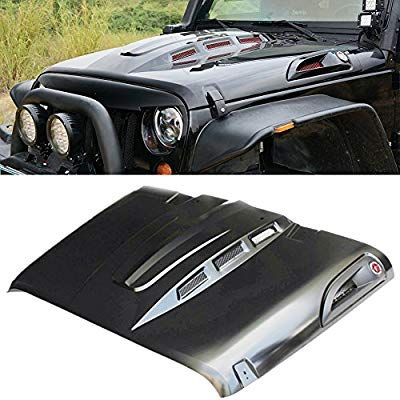 Amazon Com Maiker The Avenger Style Heat Reduction Jeep Wrangler Hood For Jeep Wrangler Jk Jku Jeep Wrangler Interior Jeep Wrangler Jeep Wrangler Accessories