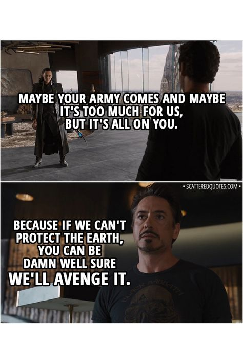 40+ Best 'The Avengers (2012)' Quotes:
