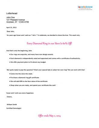 Sample Direct Mail Marketing Letters Marketing Letters Direct