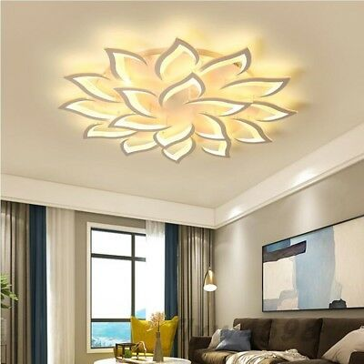 New Modern Led Chandelier Living Room Bedroom Home Modern Ceiling Lamp Fixtures Ebay Chandelier In Living Room Ceiling Lights Living Room Modern Ceiling Lamps