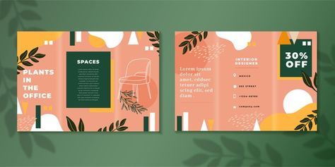 Download Abstract Trifold Brochure Template for free