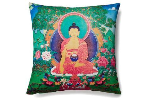 Buddha Outdoor Pillow   Outdoor pillows