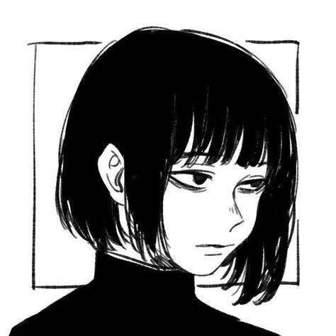 Anime Art Girl, Manga Art, Manga Anime, Aesthetic Art, Aesthetic Anime, Photographie Portrait Inspiration, Arte Sketchbook, Gothic Anime, Cartoon Art Styles