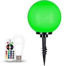 Lhg Ball Licht D 30cm Erdspiess Inkl Fernbedienung Rgb Farbwechsel 124161wohnlicht Com Products Farbwechsel Led Kugelleuchten