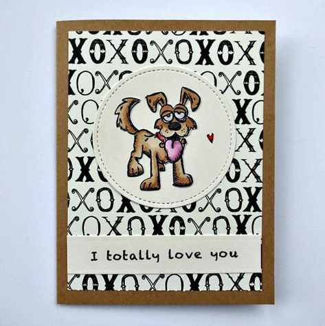 Puppy Card Dog Love Pet Animal Lover Birthday