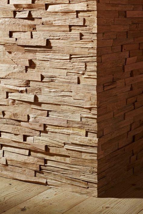 Stakkato Eiche Neu Gespalten Wandverkleidung Aus Holz Lamellen 3d 3 Dimensional Holzoptik Design Inneneinrichtung Archi Holz Wandverkleidung Altholz