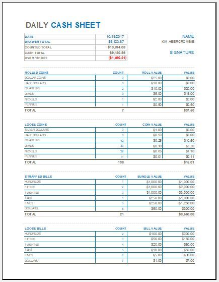 Daily Cash Sheet Template Download Free At Http Www Xltemplates Org Daily Cash Sheet Template Balance Sheet Template Bookkeeping Templates Excel Templates