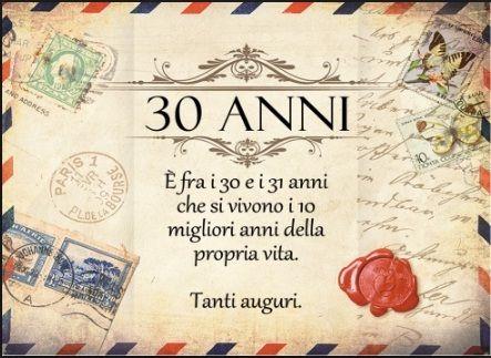 Buon Compleanno 30 Anni Divertenti Con Immagini Buon
