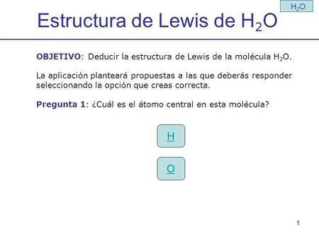 Estructura De Lewis De H2o Estructura De Lewis átomo De Hidrógeno Enlace Iónico