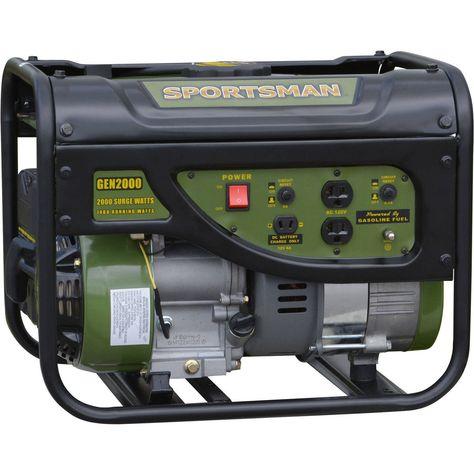 Sportsman 2000 Watt Portable Generator Free Shipping To Puerto Rico Portable Generator Generators For Sale Gas Powered Generator
