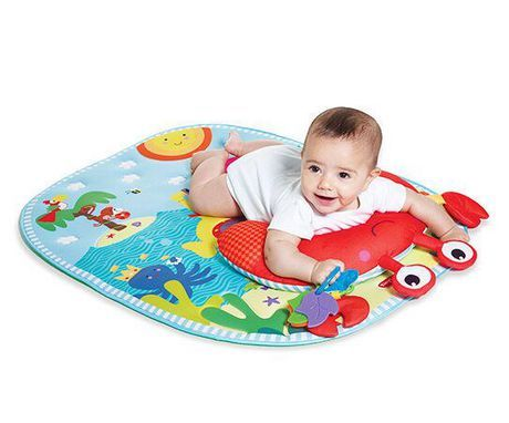 Tiny Love Tummy Time Fun Under The Sea Play Mat Walmart Canada In 2020 Tummy Time Activities Tummy Time Playmat