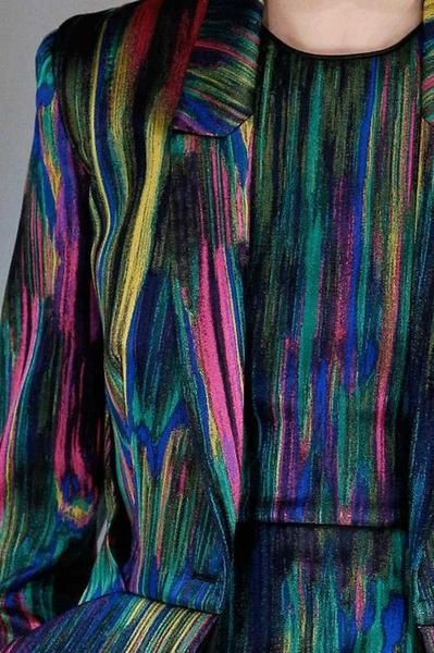 wgsn: Still reminiscing over this Hussein Chalayan print from autumn/winter