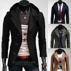 Japan Marynarka Meska Z Kapturem Elegancka M 5949176358 Oficjalne Archiwum Allegro Jackets Blazer Fashion
