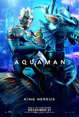 AQUAMAN (2018) - Trailers, TV Spots, Clips, Featurette, Images and