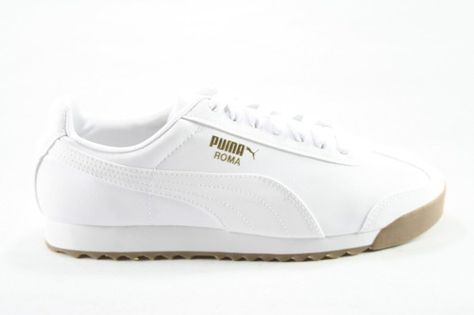 Puma Roma Classic Sneaker ($75) ❤ liked on Polyvore