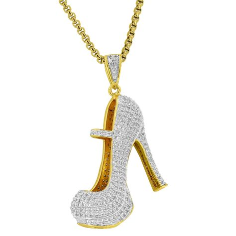 High Heels Shoes Pendant Womens Pumps Simulated Diamonds