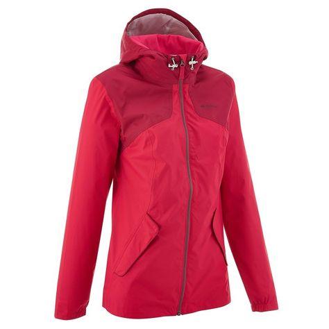 47655777d7975 Deportes de Montaña Deportes de Montaña - Chaqueta de montaña impermeable  Arpenaz 100 mujer rosa QUECHUA - Deportes de Montaña  20
