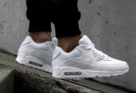 Nike Air Max 90 Essential in weiss 537384 111 in 2020
