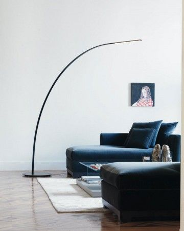 Kyudo Floor Lamp Inspired By The Art Of The Traditional Japanese
